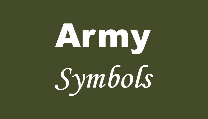 Military Symbols Paracord Charms Paracord Charms